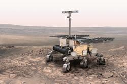 Artists concept of ExoMars 2018 Mission