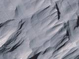 Layers in Upper Formation of Gale Crater Mound