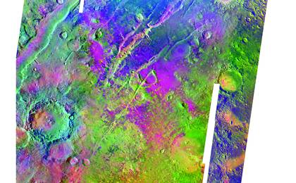 read the article 'Olivine-Rich Bedrock Around Nili Fossae'