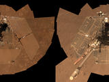 read the article 'NASA Rover Opportunity's Selfie Shows Clean Machine'
