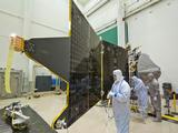 NASA's MAVEN spacecraft recently completed assembly and has started environmental testing.