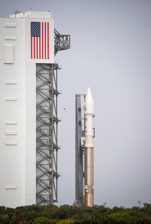Mars-Bound MAVEN at the Launch Pad