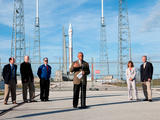 At Cape Canaveral Air Force Station's Space Launch Compex-41, NASA Administrator Charles Bolden, along with other agency and contractor officials spoke to members of the news media about preparations for the Mars Atmosphere and Volatile EvolutioN, or MAVEN, mission.