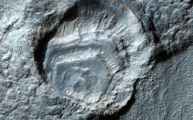 Weird Crater