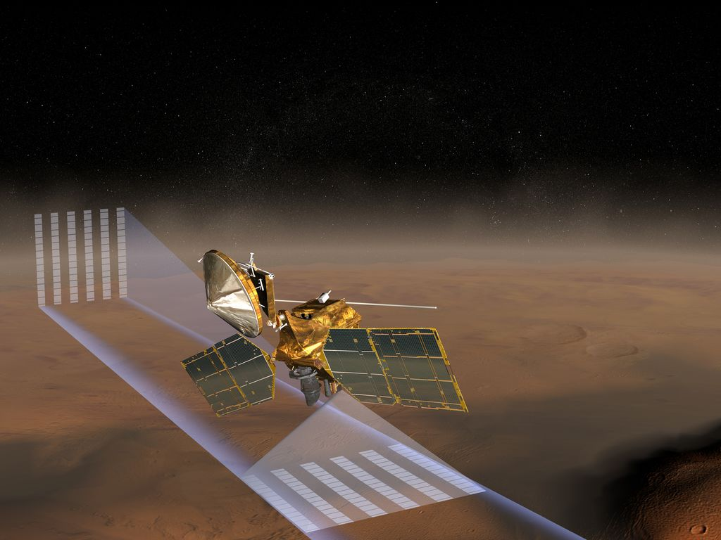 MRO Mars Climate Sounder