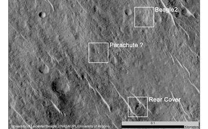 read the article 'Components of Beagle 2 Flight System on Mars'