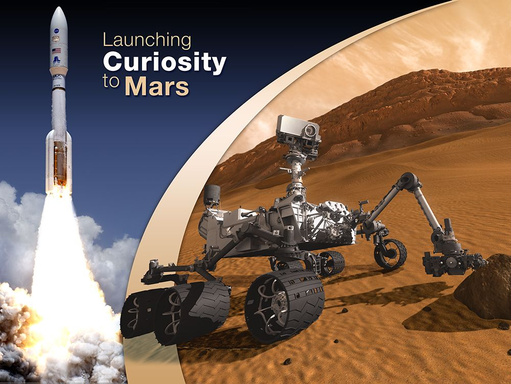 Curiosity Launches to Mars
