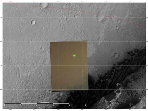 Nailing Down Curiosity's Landing Site