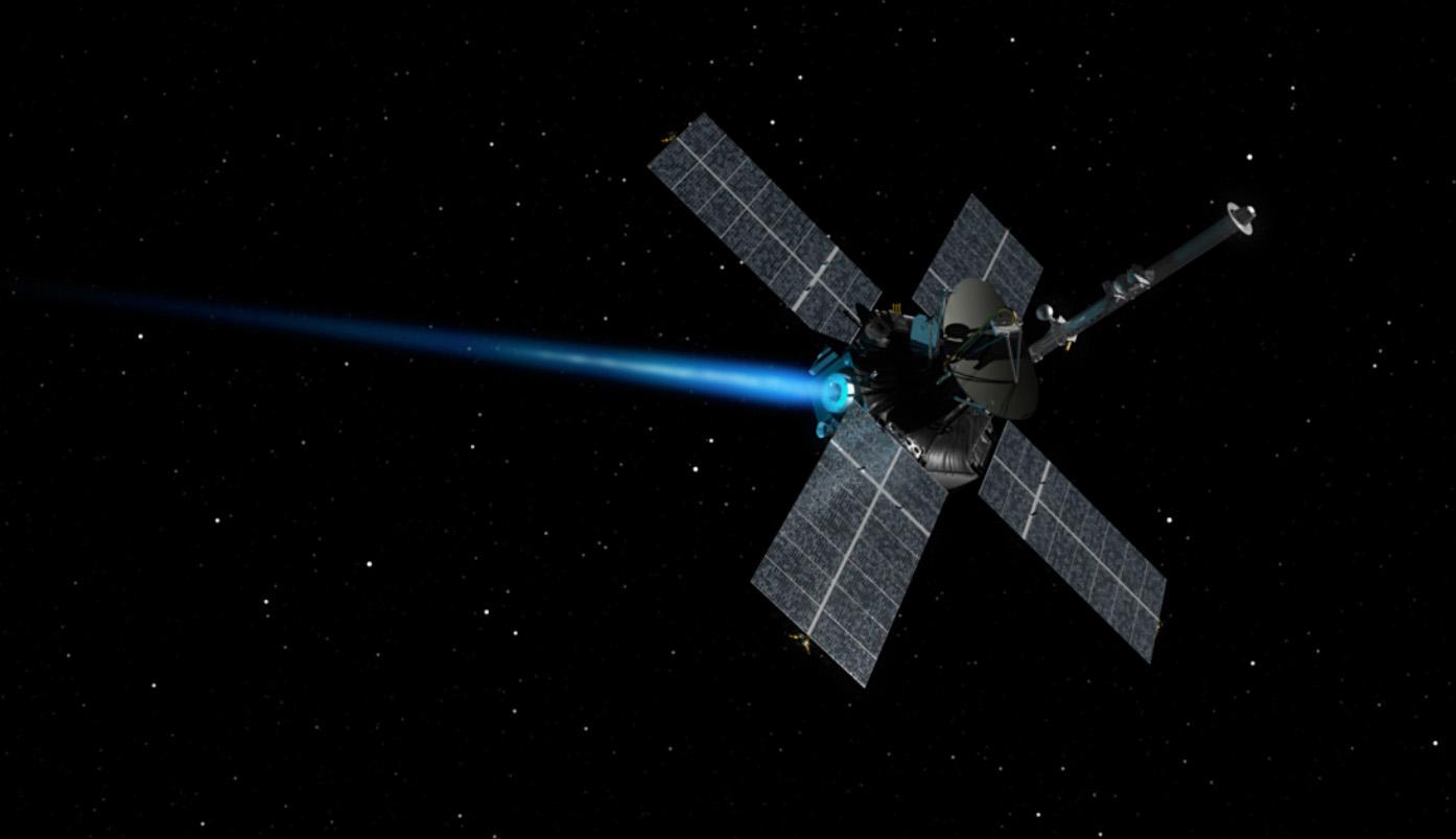 Animation of Mariner 4 Spacecraft with Engine Burn | Mars ...