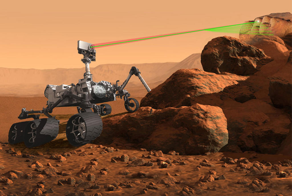 Read article: Los Alamos laser selected for 2020 Mars mission
