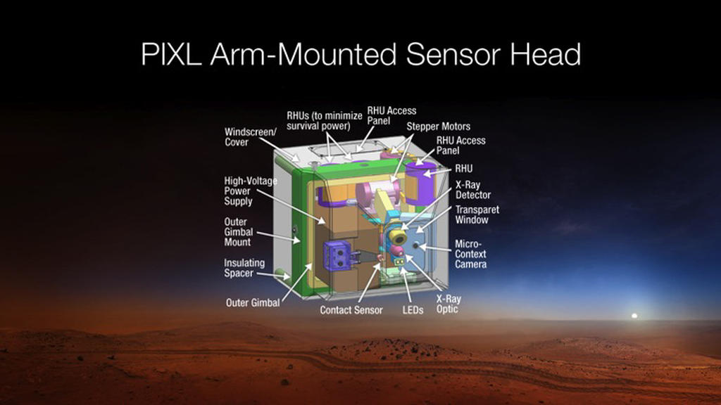 Read article: Mars 2020 Rover's PIXL to Focus X-Rays on Tiny Targets