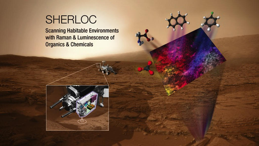 Read article: SHERLOC to Micro-Map Mars Minerals and Carbon Rings