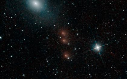 Click to view: NEOWISE Spies Comet C/2013 A1 Siding Spring a Second Time
