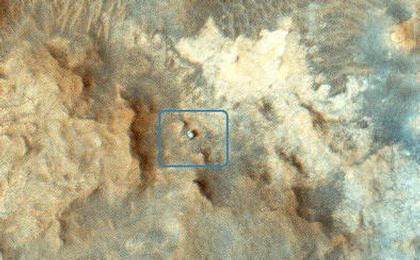 read the article 'Curiosity Rover at 'Pahrump Hills''