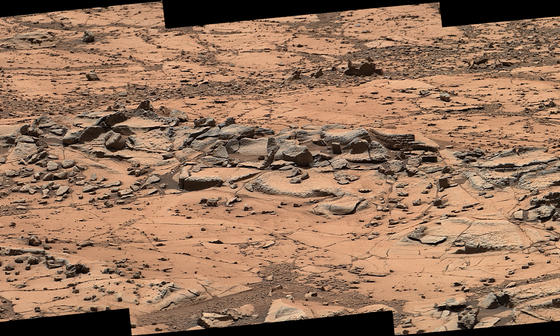 read the article 'Second Time Through, Mars Rover Examines Chosen Rocks'