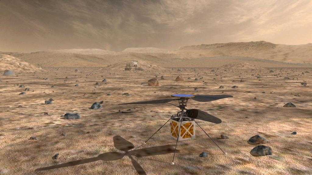 Read article: Helicopter Could be 'Scout' for Mars Rovers