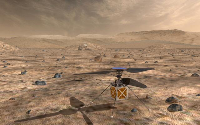 read the article 'Helicopter Could be 'Scout' for Mars Rovers'