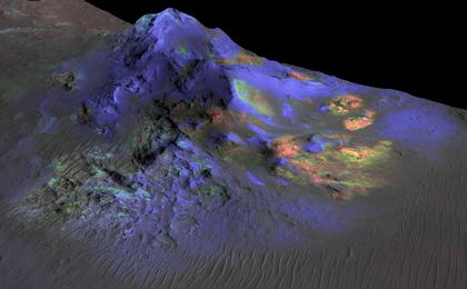 read the article 'Spectral Signals Indicating Impact Glass on Mars'