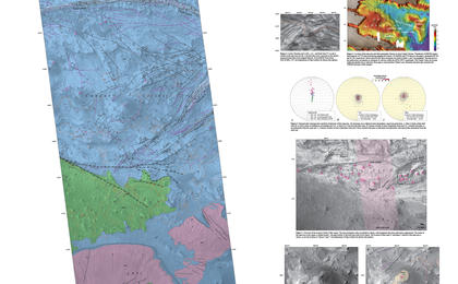 read the article 'Geological Mapping of Hills in Martian Canyon'