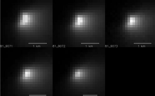 Mars Orbiter Sizes Up Passing Comet