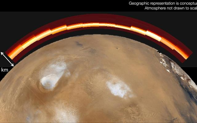 Ionized Metal in Mars' Atmosphere After Comet Flyby