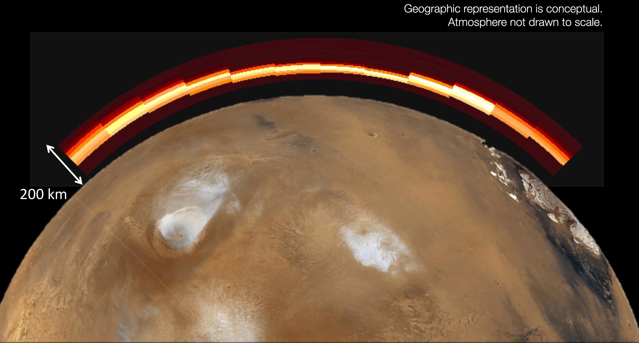 Mars Spacecraft Reveal Comet Flyby Effects On Martian