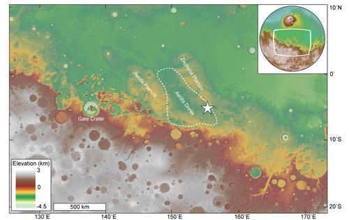 Overview Map of Aeolis Dorsa