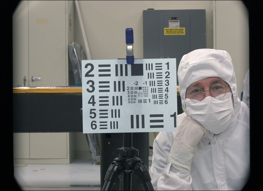Sample Image Through Camera Built for Next Mars Rover