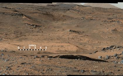 see the image 'Curiosity Marches Onward and Upward (Labeled)'