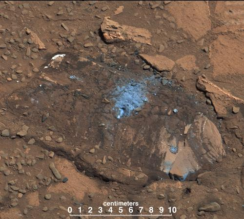 Loose Rock Leads to Incomplete Drilling