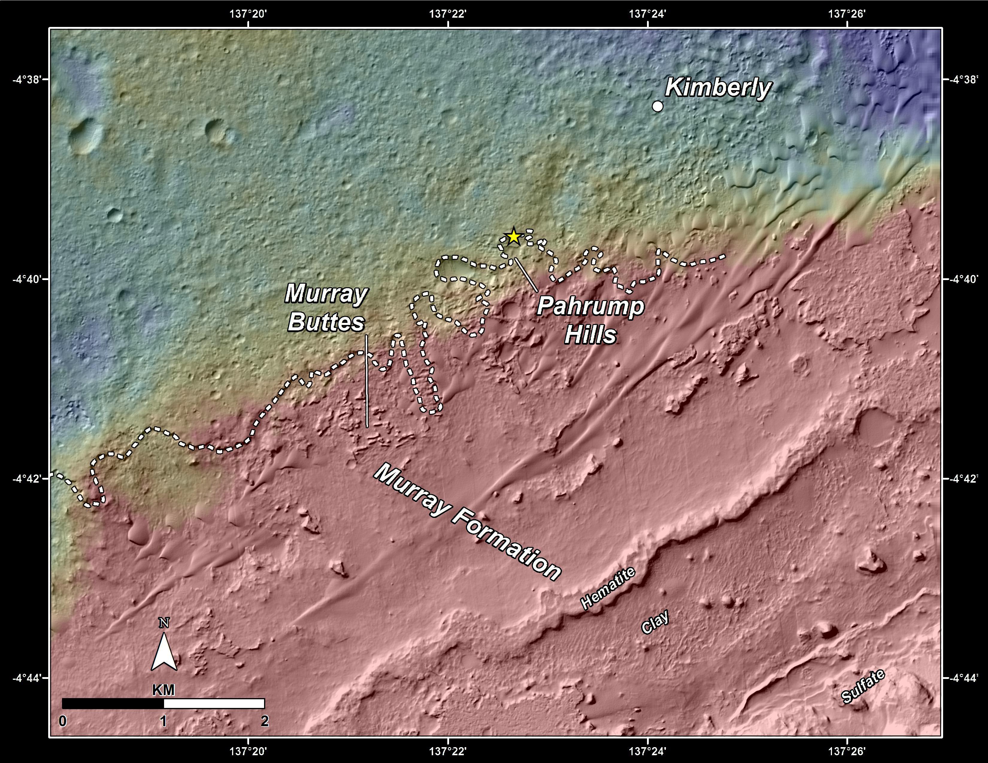 nasa mars maps-#8
