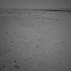 Surface of Gale Crater, taken on Sol 41