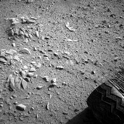 This image was taken by Navcam: Left A (NAV_LEFT_A) onboard NASA's Mars rover Curiosity on Sol 52