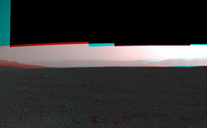 see the image '3-D View from Bradbury Landing Site'