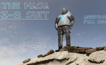 NASA's Next Prototype Spacesuit