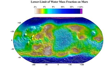 read the article 'Water mass map from neutron spectrometer - December 8, 2003'