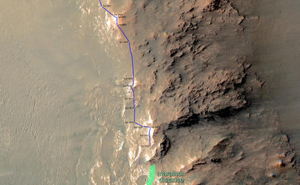 read the article 'Opportunity Rover Nears Mars Marathon Feat (Unlabeled)'