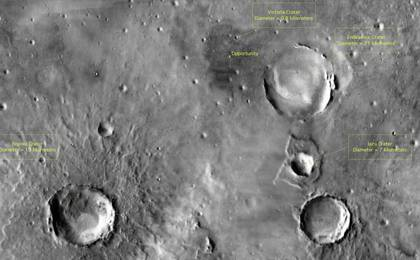 read the article 'Orbital View of Opportunity's Region'