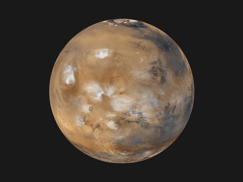 Mars Daily Global Image from April 1999