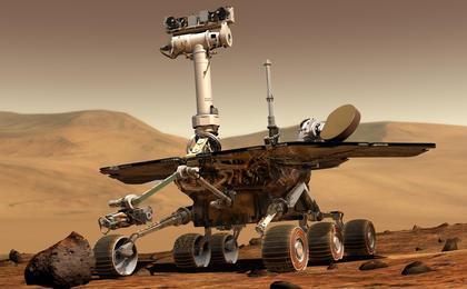 Moving around Mars