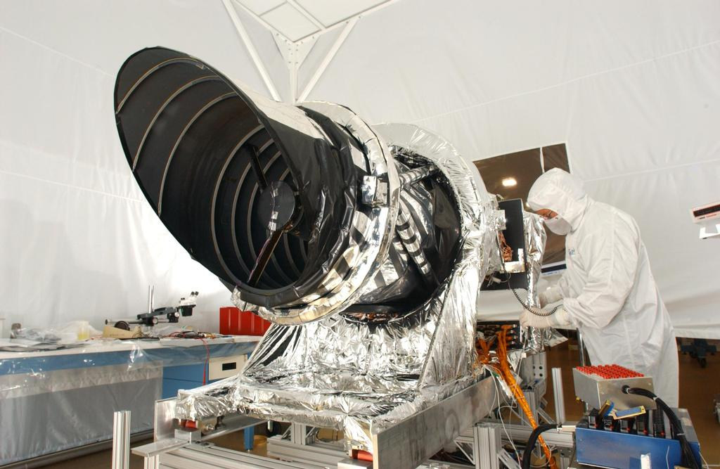 The high resolution imaging science experiment (HiRISE) is one of six science instruments for NASA's Mars Reconnaissance Orbiter.
