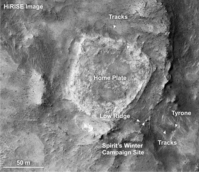 PIA09089-RA3-hirise-closeup_annotated.tif