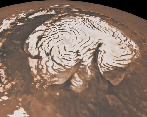 Northern Ice Cap of Mars