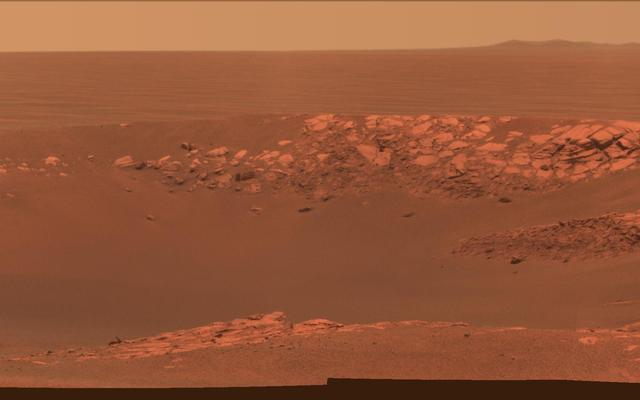 'Intrepid' Crater on Mars