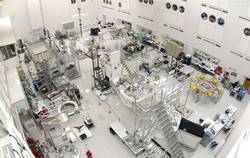 Working on Curiosity in JPL Spacecraft Assembly Facility
