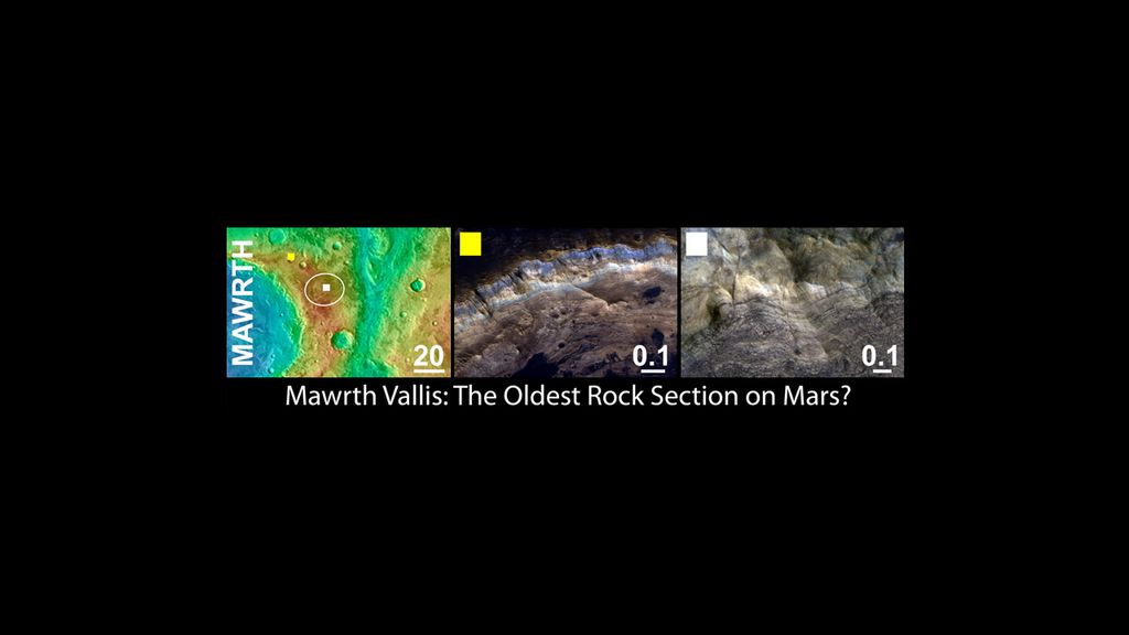 Mawrth Vallis was considered as a landing site for NASA's Mars Science Laboratory mission.