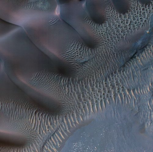 Dunes in Noachis Terra Region of Mars
