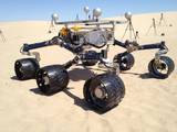 read the article 'Mojave Desert Tests Prepare for NASA Mars Roving'