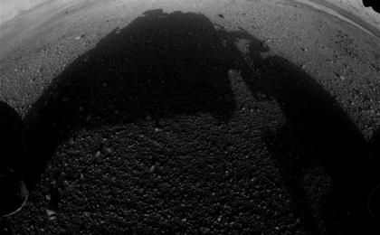 see the image 'Curiosity's Early Views of Mars'