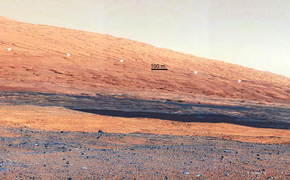 see the image 'Getting to Know Mount Sharp (ANNOTATED)'